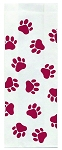 Veterinary Stock Maroon Design Medium Gusseted Bags