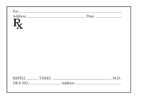 Prescription Pads